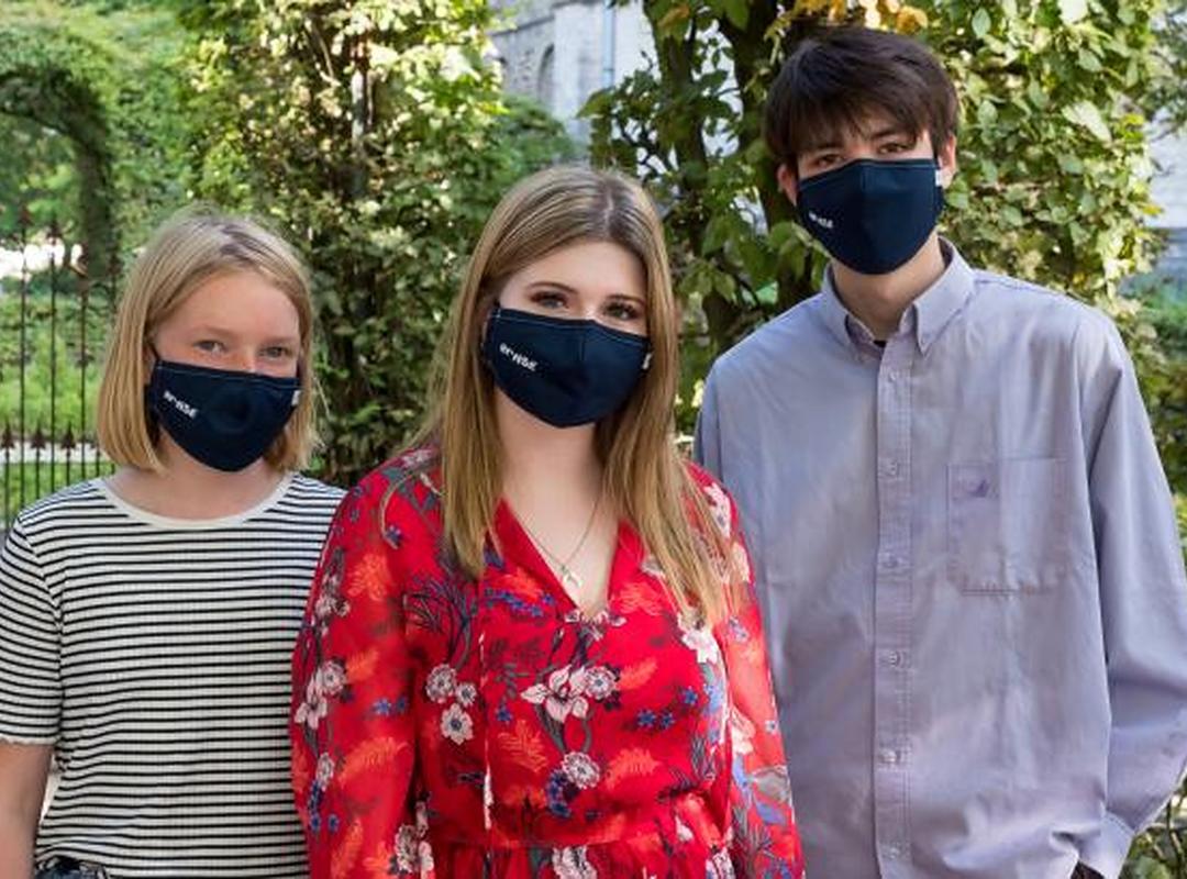 Corona bestrijden kan nu ook met 'Ronse mondmasker'
